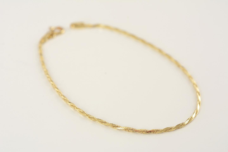 377d16c60 náramok zo žltého zlata - Dr.Cash, gold & vintage